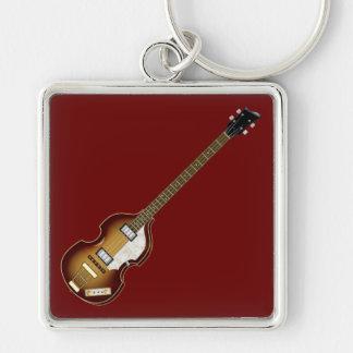 Violin Bass Key Chain