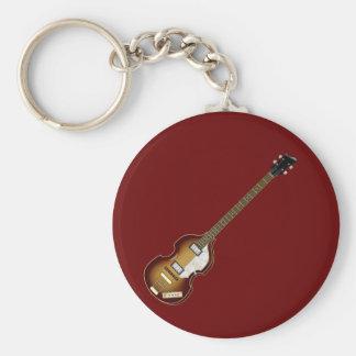 Violin Bass Keychain