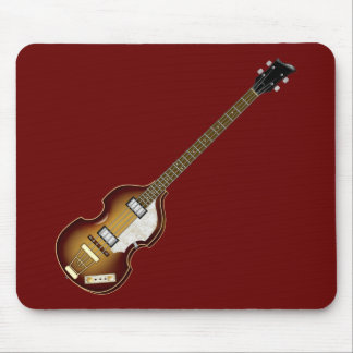 Violin Bass Mouse Pad