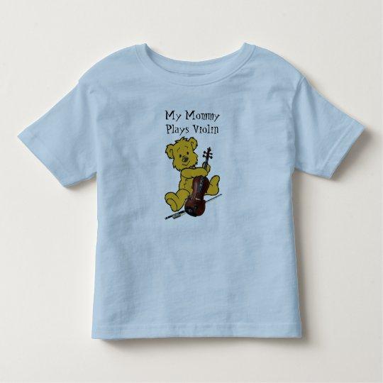 VIOLIN BEAR-T-SHIRT TODDLER T-SHIRT