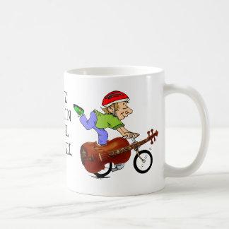 VIOLIN BIKE-MUG COFFEE MUG