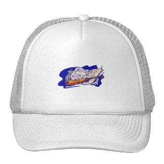 violin blue music jar still life.png trucker hat