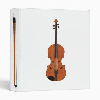 Violin Bow 3D Model Custom Binder
