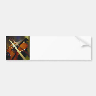 Violin & Bow Close-Up 1 Bumper Sticker