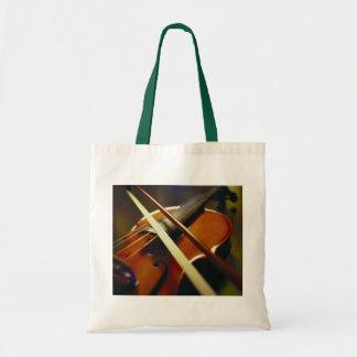Violin & Bow Close-Up 1 Tote Bag