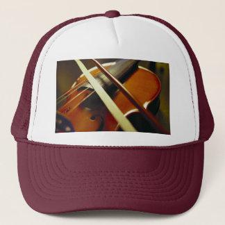 Violin & Bow Close-Up 1 Trucker Hat