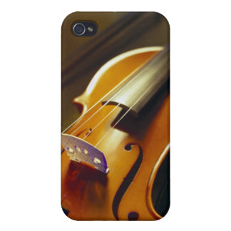 Violin & Bow Close-Up 2 Covers For iPhone 4