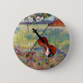Violin/Bow ~ Springtime in France ~ Robert Vonnoh Button
