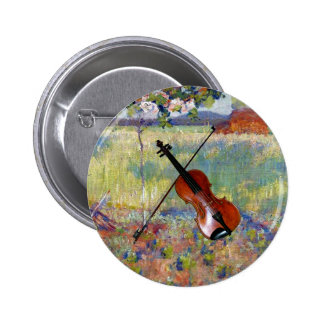 Violin/Bow ~ Springtime in France ~ Robert Vonnoh Pins