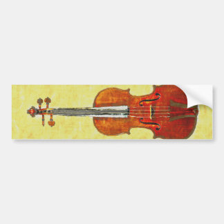 VIOLIN BUMPER STICKER