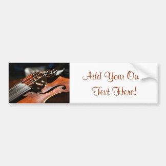 Violin Bumper Sticker