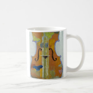 Violin Butterflies Mug