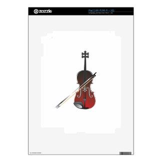 violín calcomanía para iPad 2