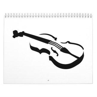Violin Calendar