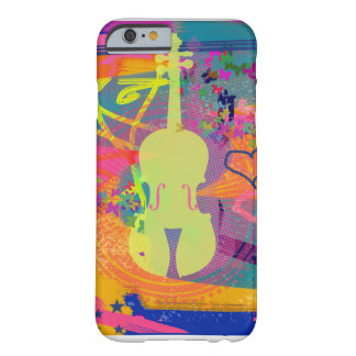Violin Cell Phone Case-Abstract Art Barely There iPhone 6 Case
