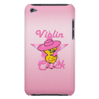 Violin Chick #8 Barely There iPod Case