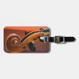 Violin classical stringed musical instrument tag for luggage