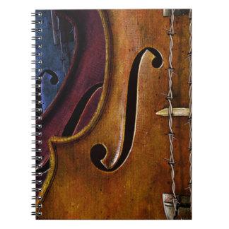 Violin Composition notebook