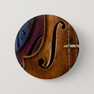 Violin Composition Pinback Button