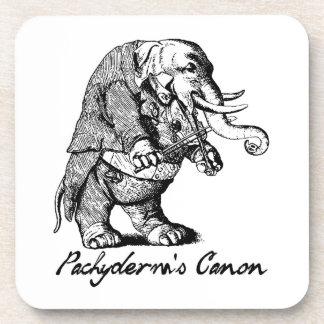 Violín de Canon del Pachyderm que juega el violín Posavaso