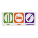 Violín de Eat Sleep Play Posters