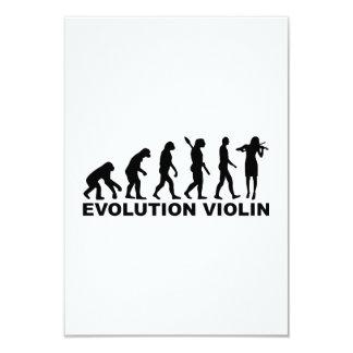 Violín de la evolución anuncio personalizado
