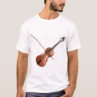 Violin Design T-Shirt