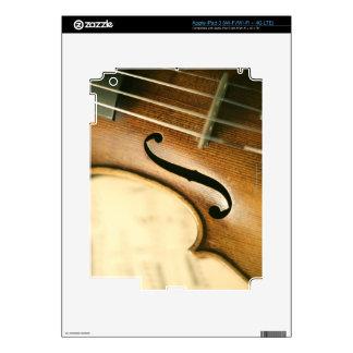 Violín detallado iPad 3 skins