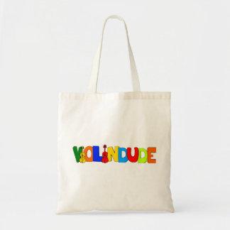 Violin Dude Bag Tote Bags