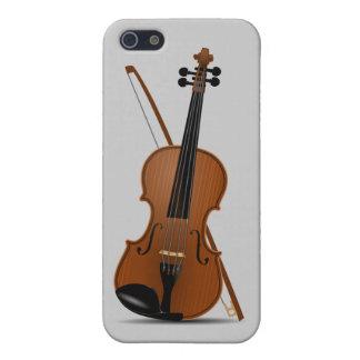 Violín e instrumento de secuencia de arco Musican iPhone 5 Fundas