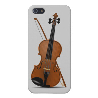 Violín e instrumento de secuencia de arco Musican iPhone 5 Carcasa