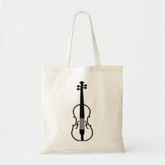 Violin Fiddle Budget Tote Bag