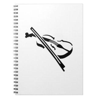 Violin Fiddle Notebook