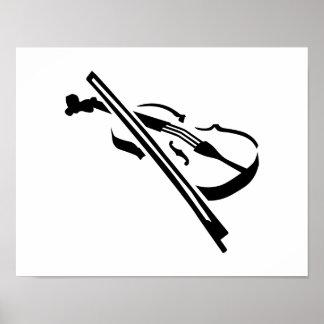 Violin Fiddle Print