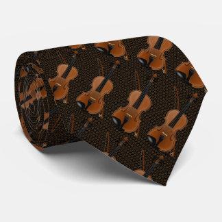 Violin Fiddle Tie