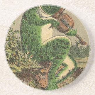 Violin Frog Coaster