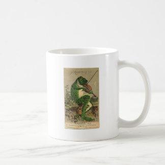Violin Frog Coffee Mug