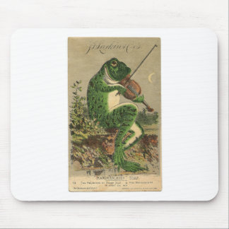Violin Frog Mouse Pad