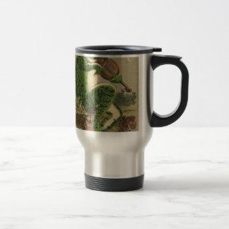 Violin Frog Travel Mug