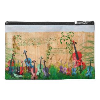 Violin Garden Travel Accessories Bags