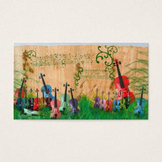 Violin Garden Business Card