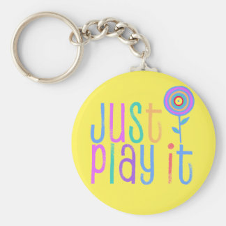 Violin Gift-Key Chain-Just Play It Keychain