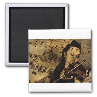 Violin Girl Magnet