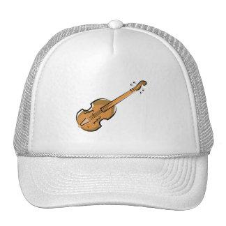 violin mesh hat