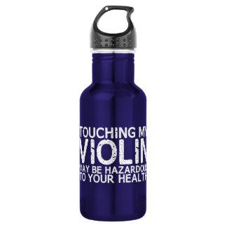 Violin Hazard Water Bottle