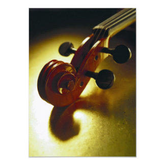Violin Headstock Card