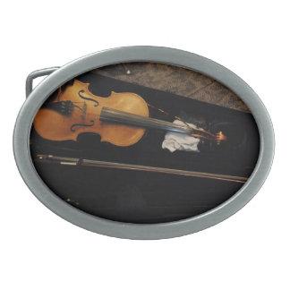 Violín Hebillas De Cinturon Ovales