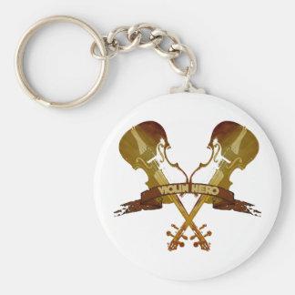 Violin Hero Key Chains