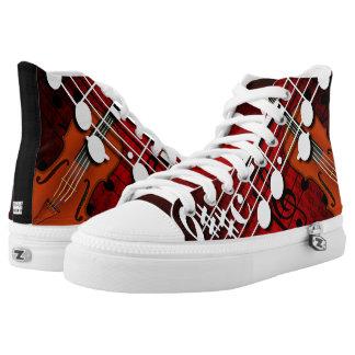 Violin High-Top Sneakers