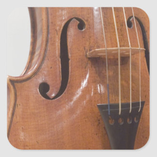 Violin II Square Sticker